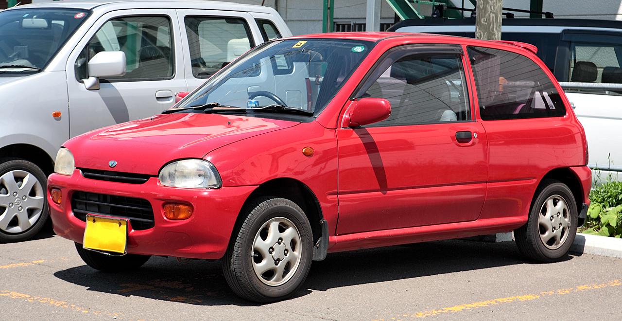 SUBARU VIVIO 4WD
