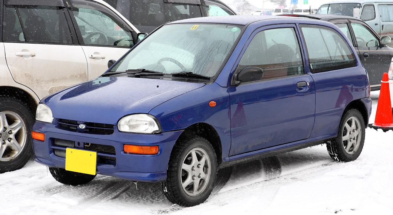 SUBARU VIVIO 4WD white