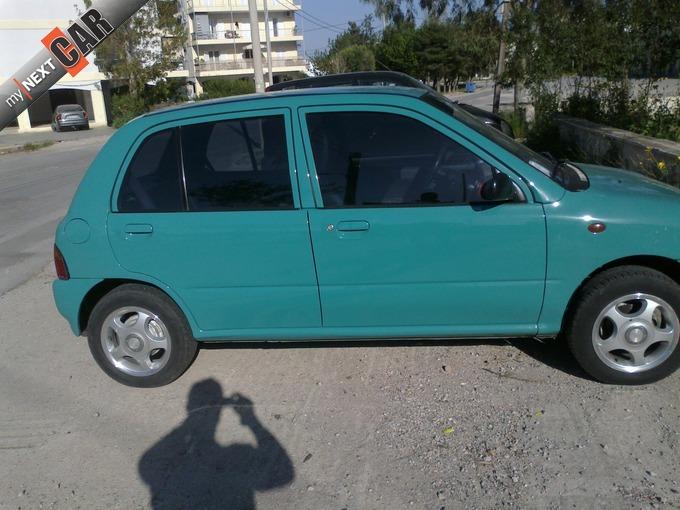 SUBARU VIVIO green