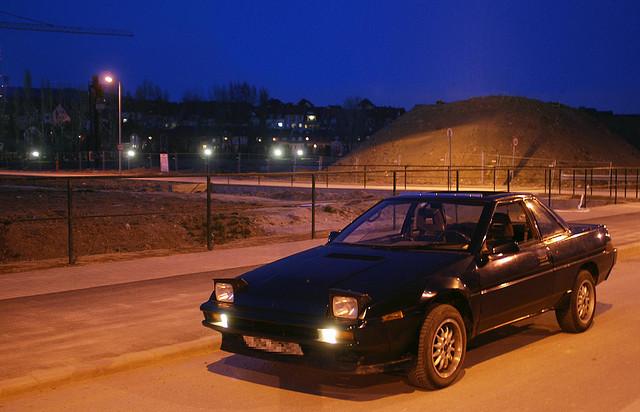 SUBARU XT 4WD brown