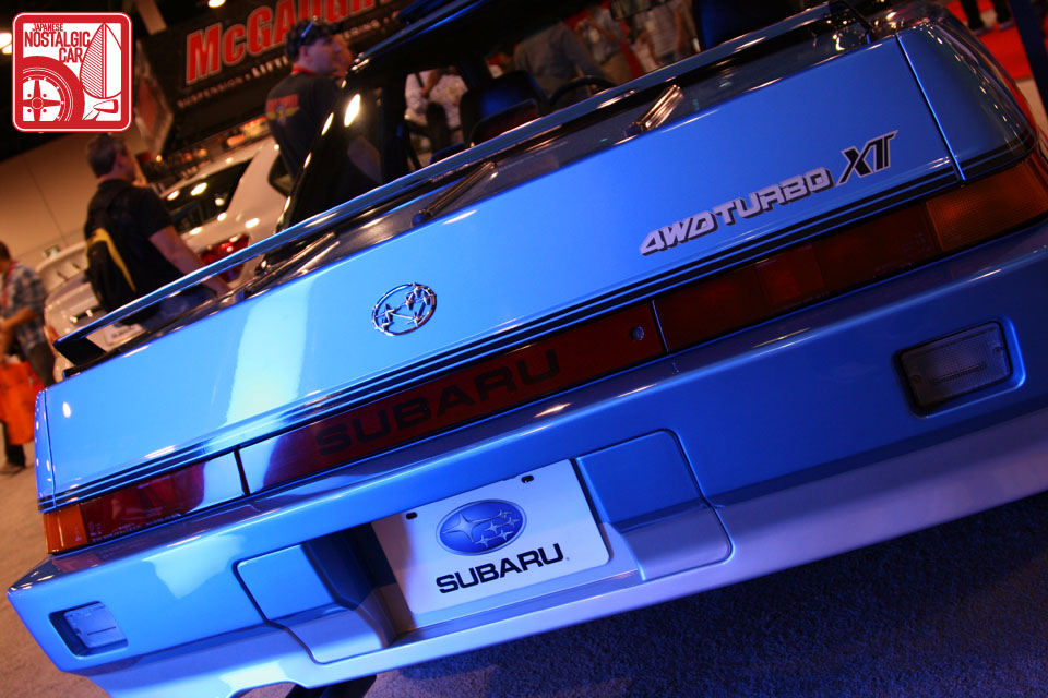 SUBARU XT 4WD interior