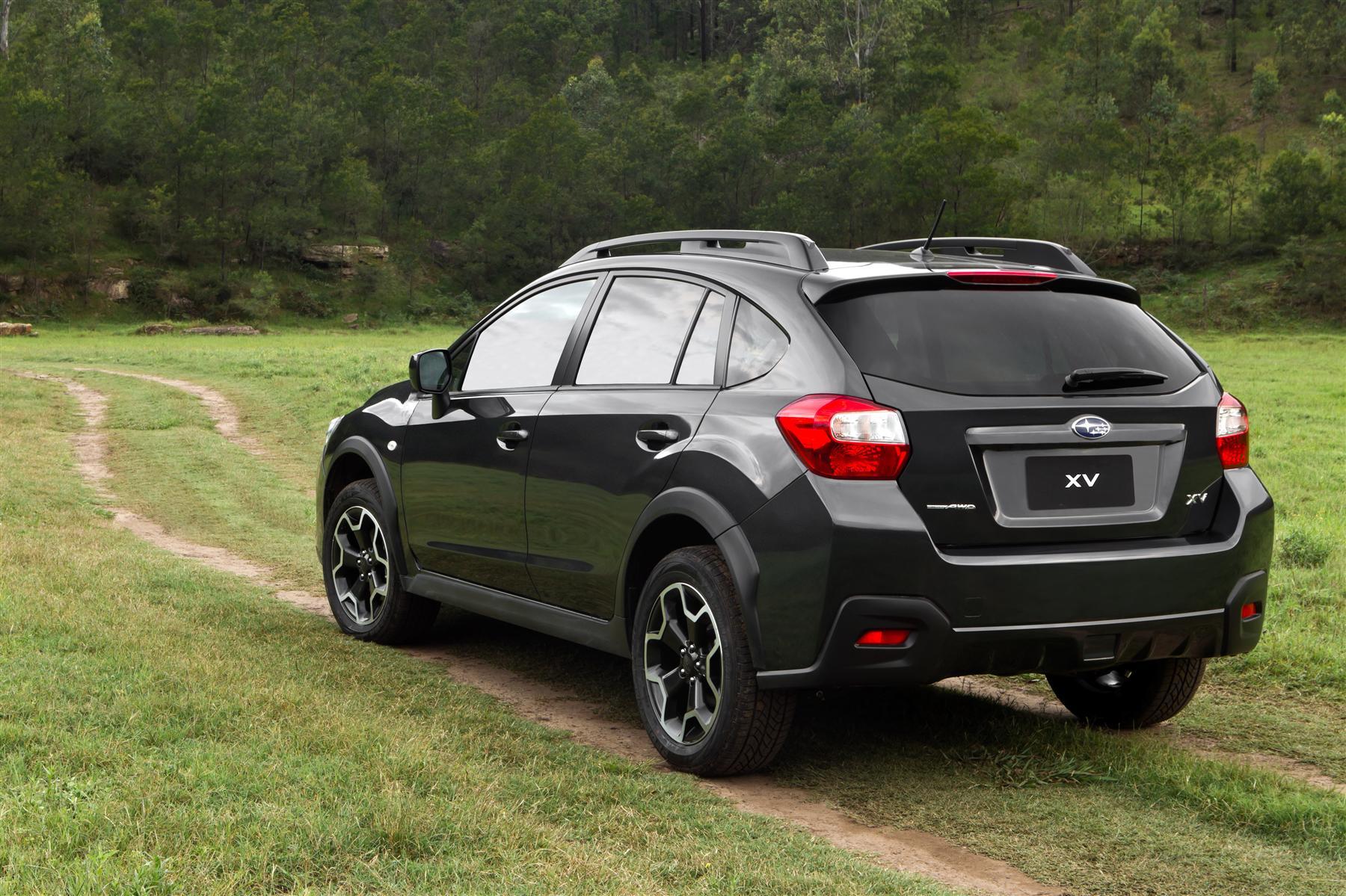Subaru Xv Blue