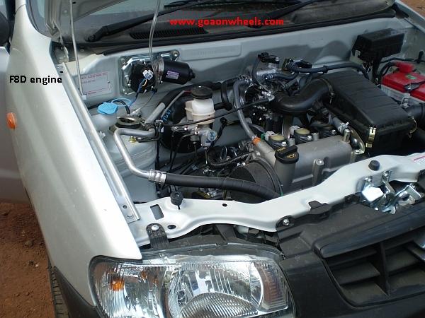 SUZUKI ALTO engine