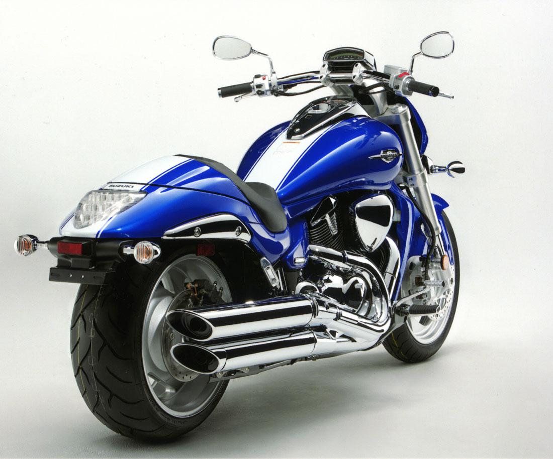 SUZUKI BOULEVARD 109 blue