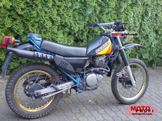 SUZUKI DR 250 S blue