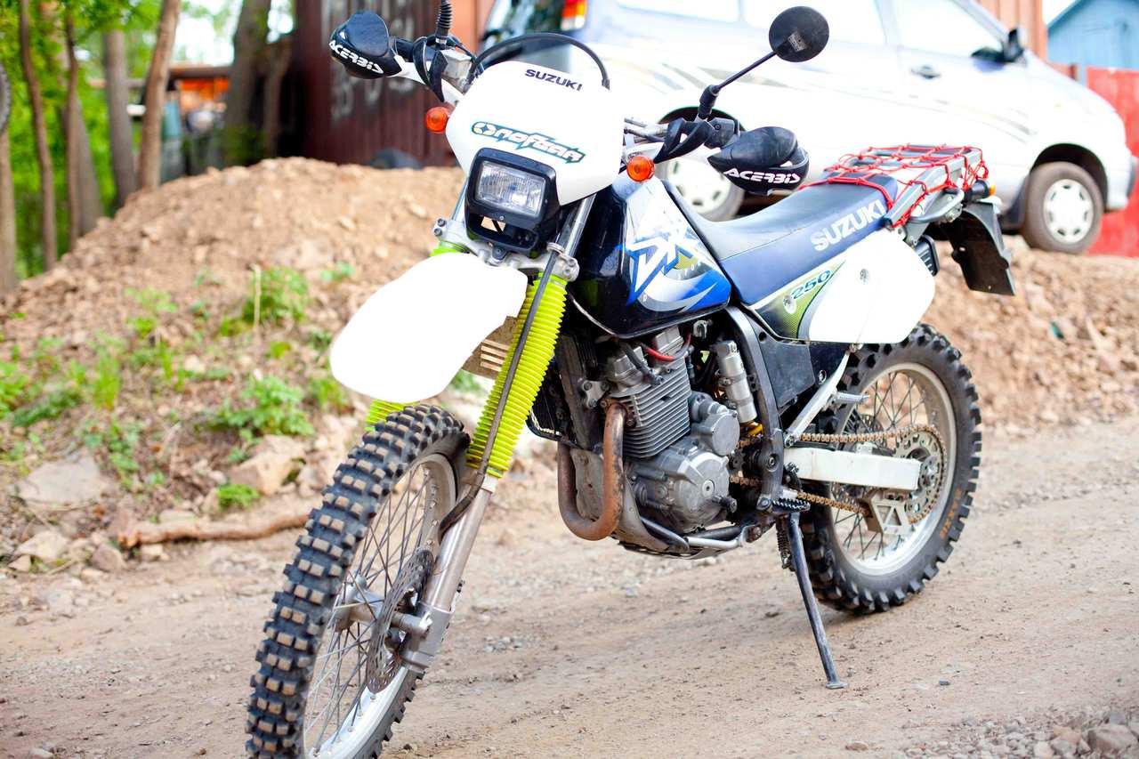 SUZUKI DR 250 engine