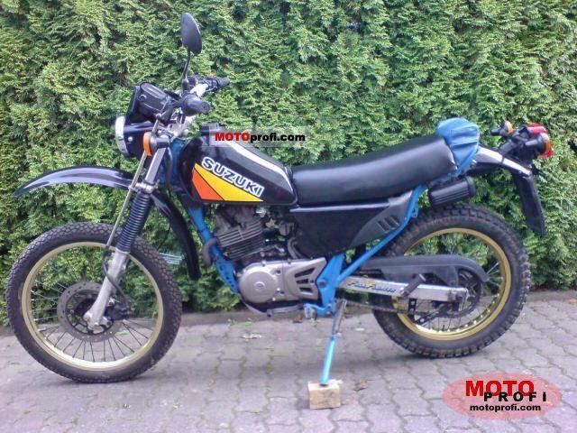 SUZUKI DR 250 green