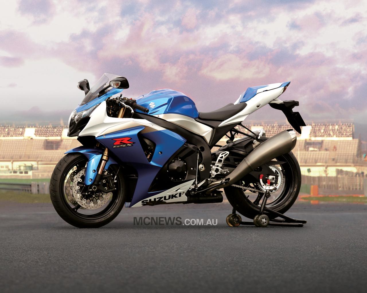 SUZUKI GS 1000 blue