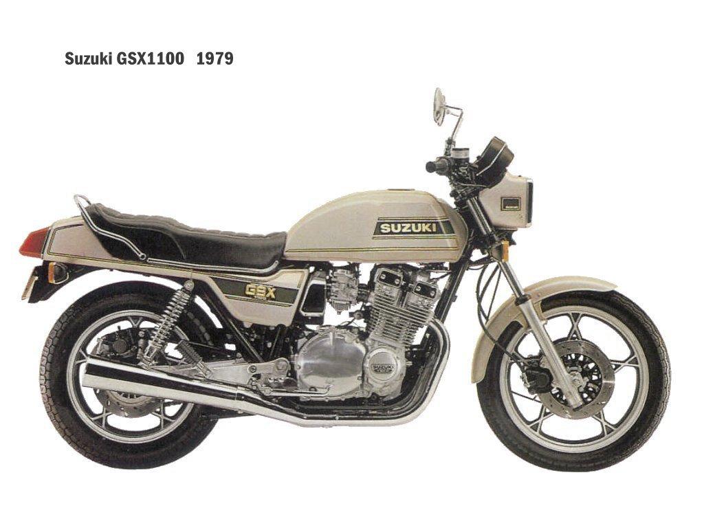 SUZUKI GSX 1100 engine