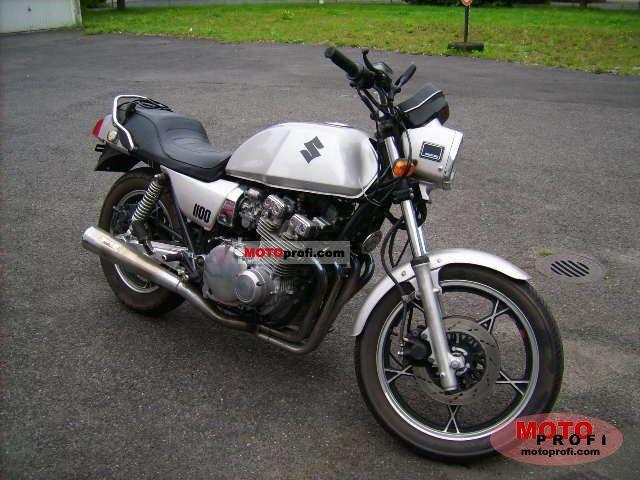 SUZUKI GSX 1100 green