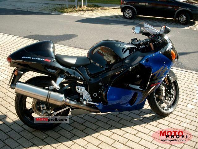 SUZUKI GSX 1300 brown