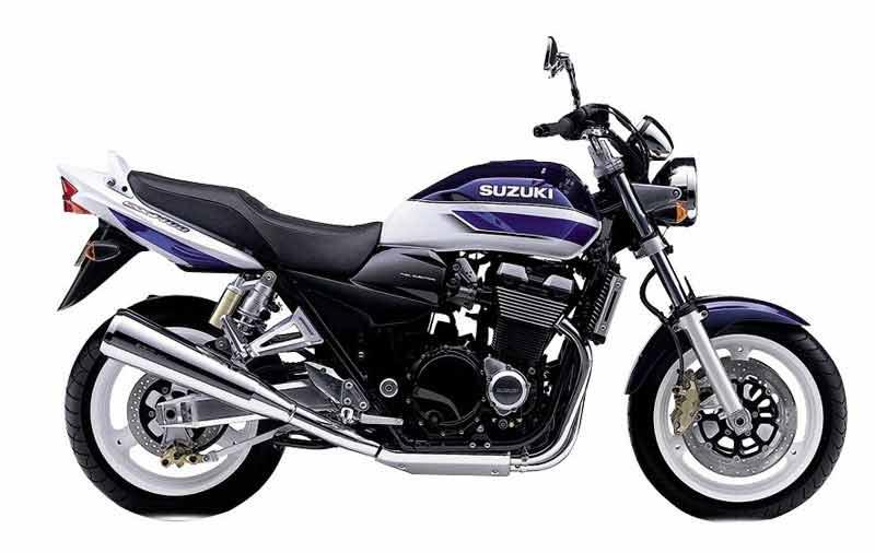 SUZUKI GSX 1400 silver