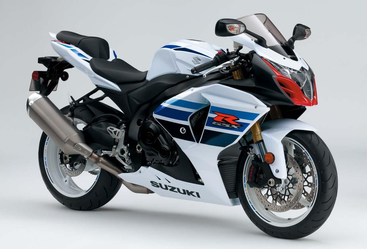 SUZUKI GSX-R 1000 red