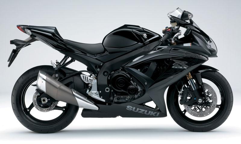 SUZUKI GSX-R600 black