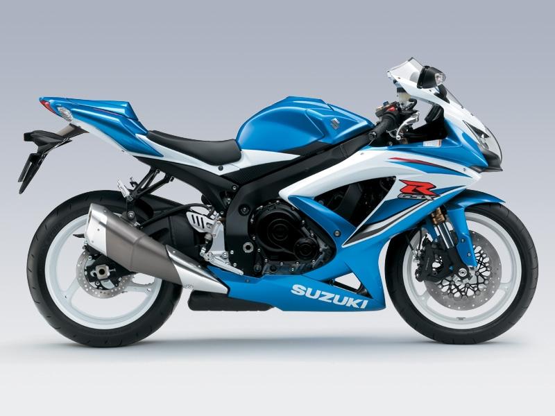 SUZUKI GSX-R600 blue