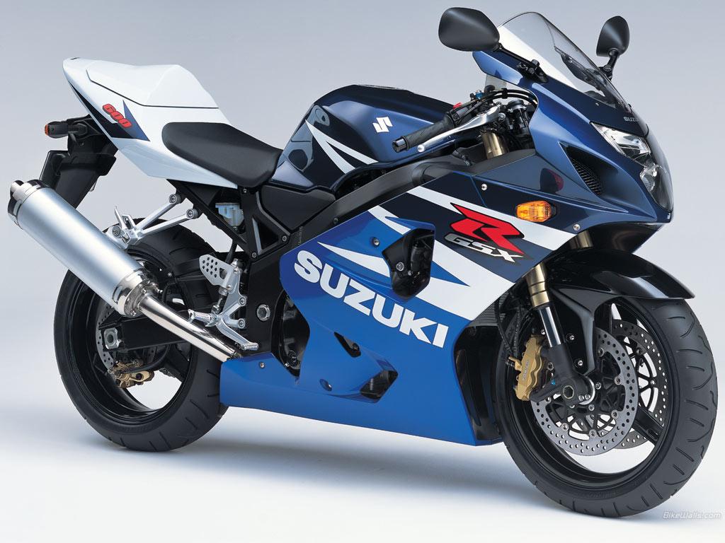 SUZUKI GSX-R600 interior