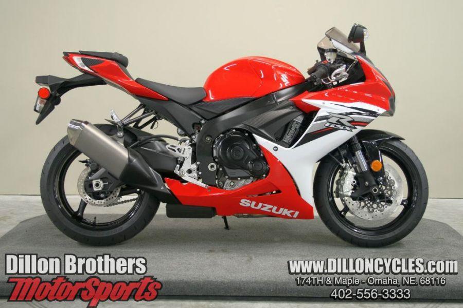 SUZUKI GSX-R600 red