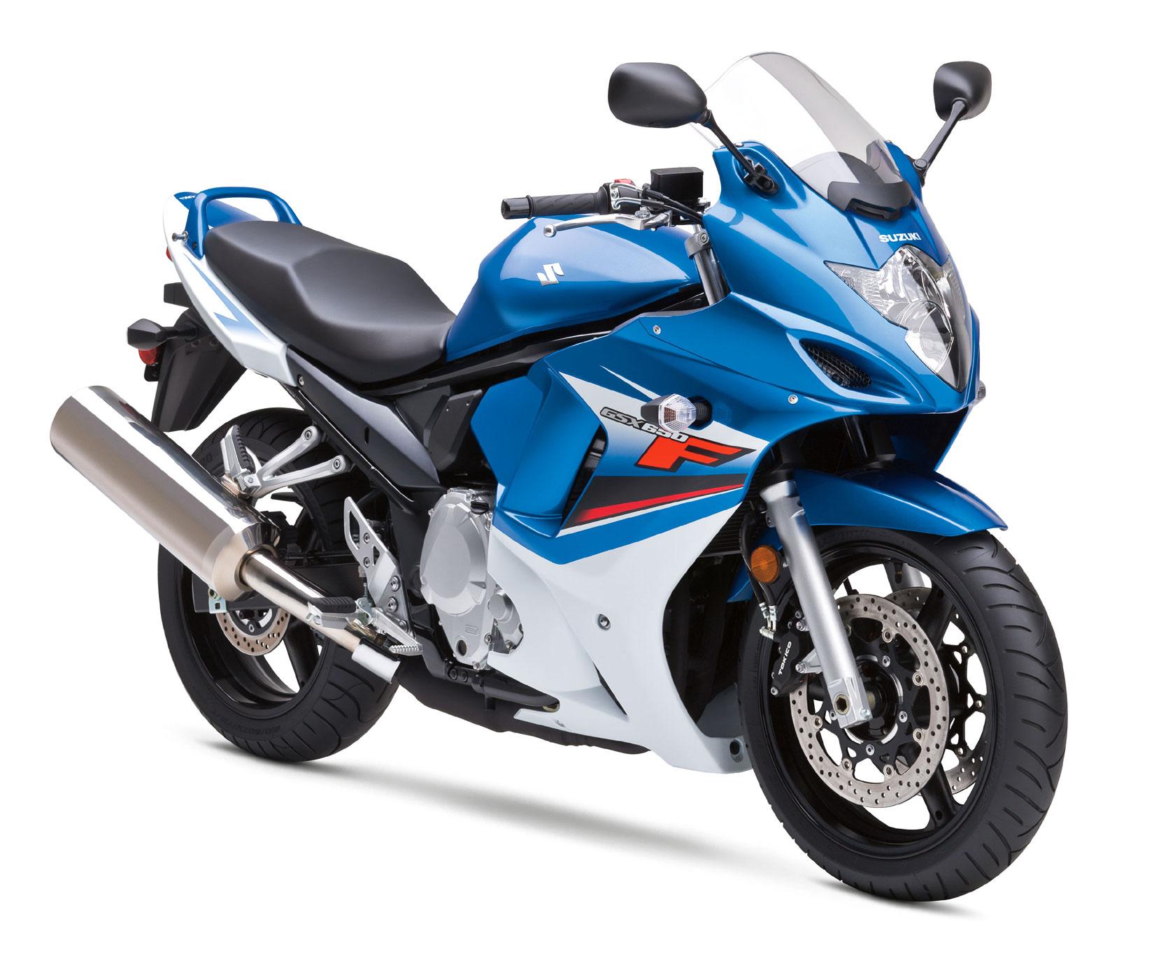 SUZUKI GSX650F blue
