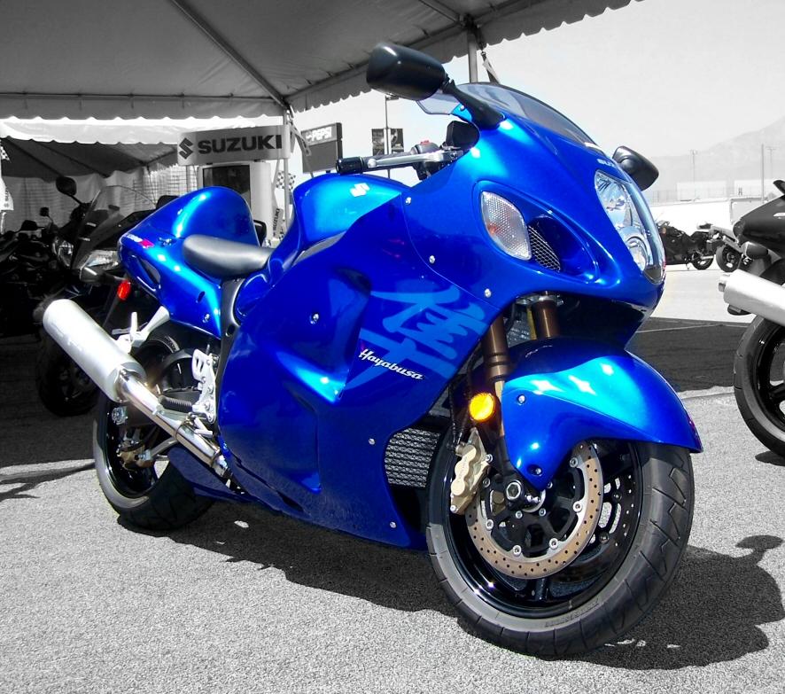 SUZUKI HAYABUSA blue