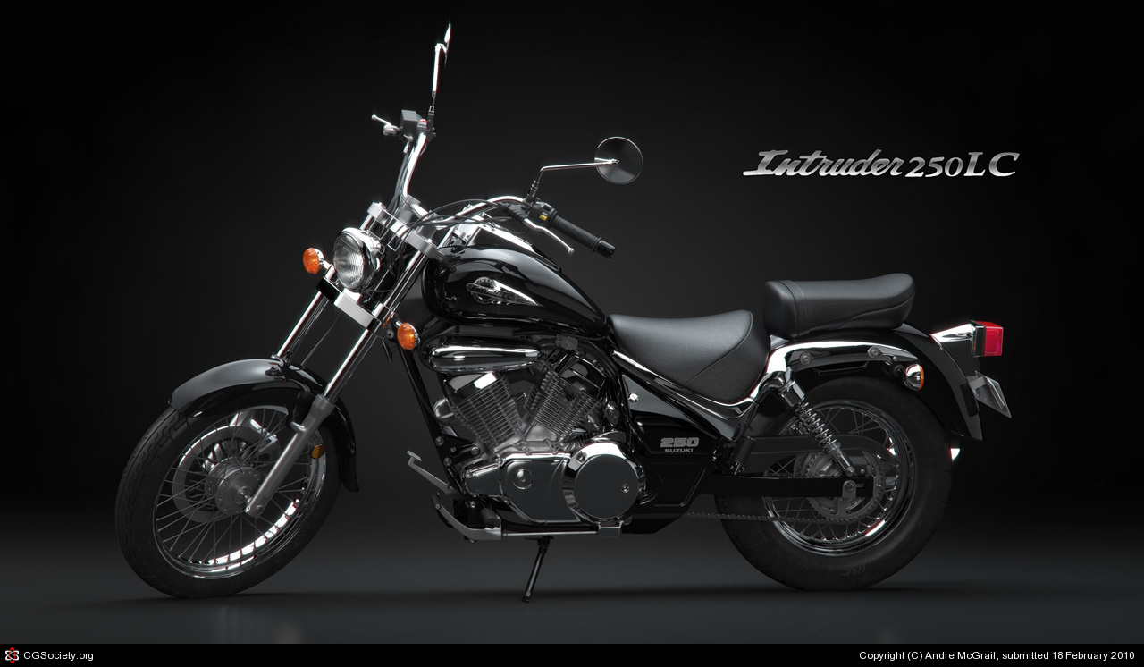 SUZUKI INTRUDER brown
