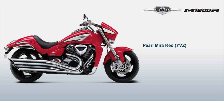 SUZUKI INTRUDER red