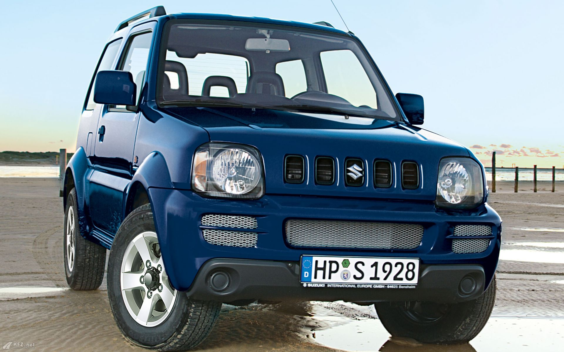 suzuki jimny review and photos. Black Bedroom Furniture Sets. Home Design Ideas