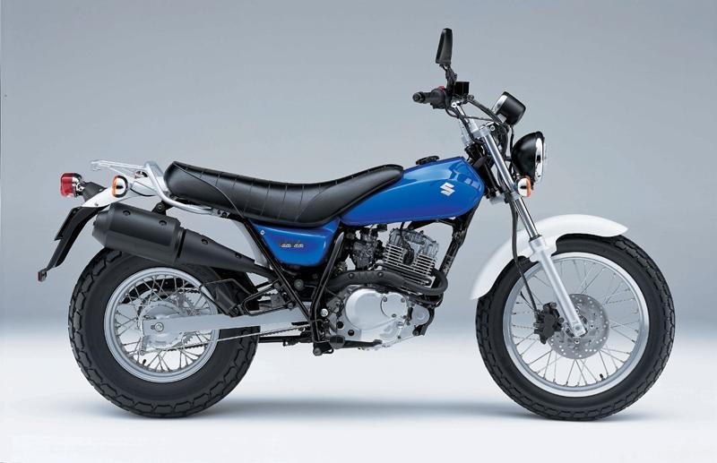 SUZUKI RV 125 VANVAN blue