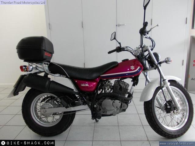 SUZUKI RV 125 VANVAN white