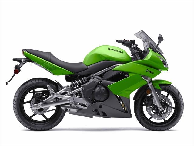 SUZUKI SV650 green