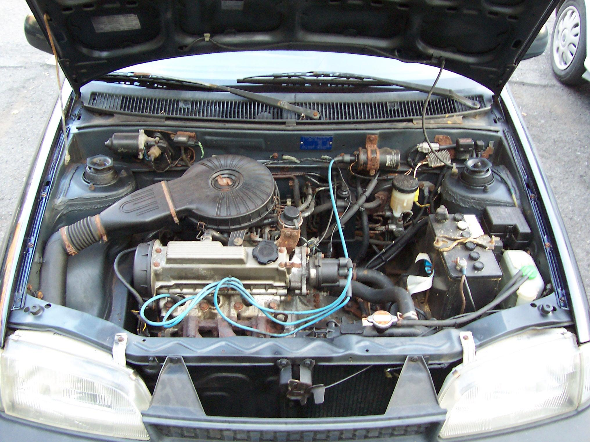 SUZUKI SWIFT 1.0 engine