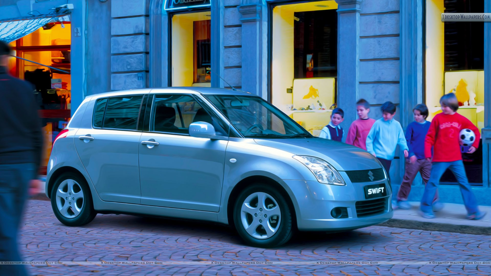 SUZUKI SWIFT green