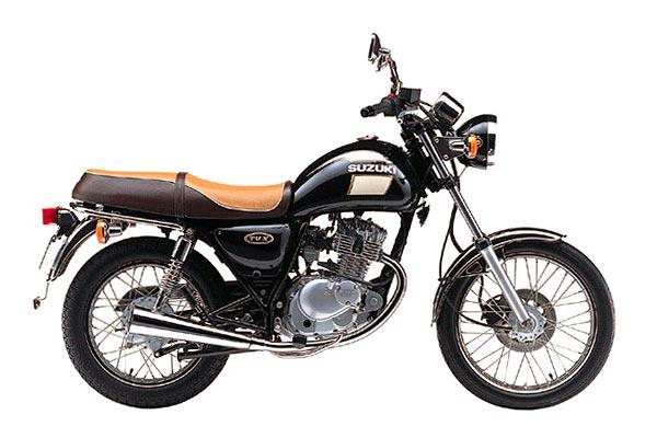 SUZUKI TU250 black