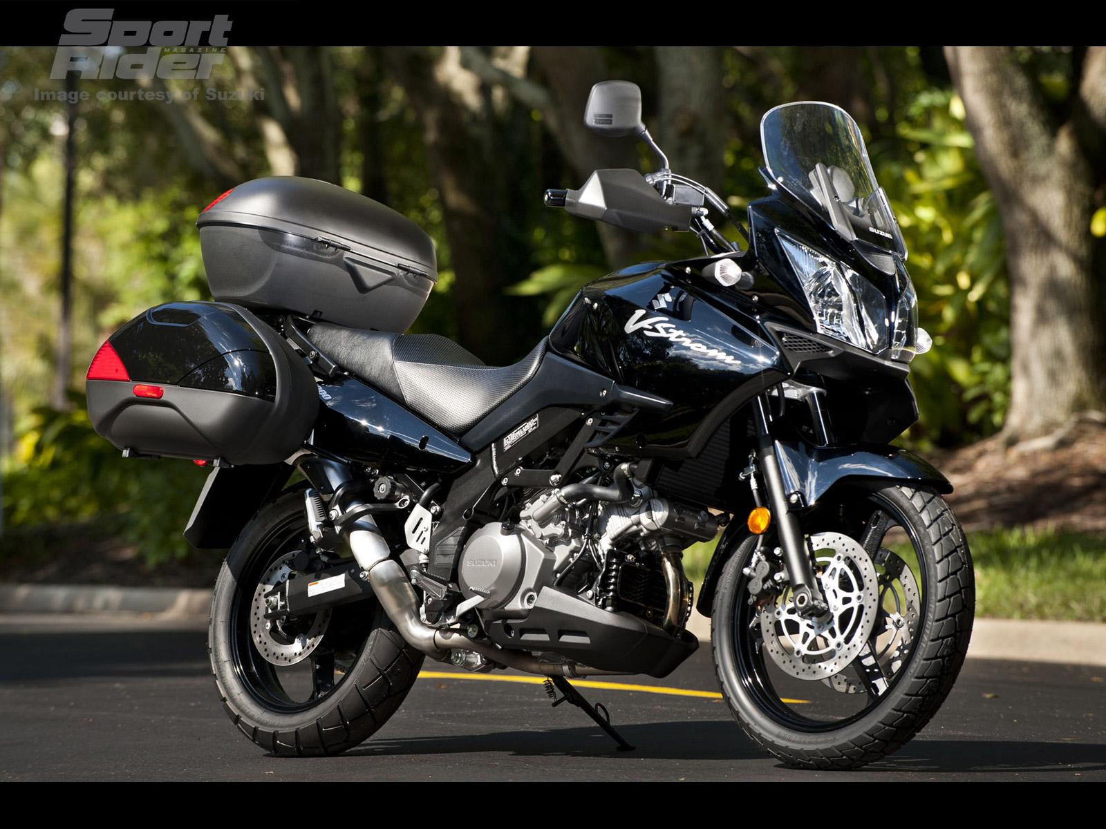 SUZUKI V-STROM 1000 black