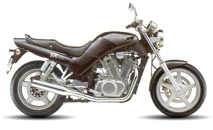 SUZUKI VX 800 brown