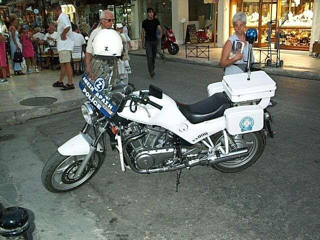 SUZUKI VX 800 white