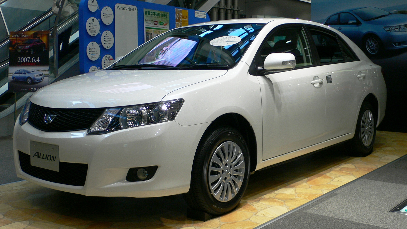 TOYOTA ALLION 1.5 black