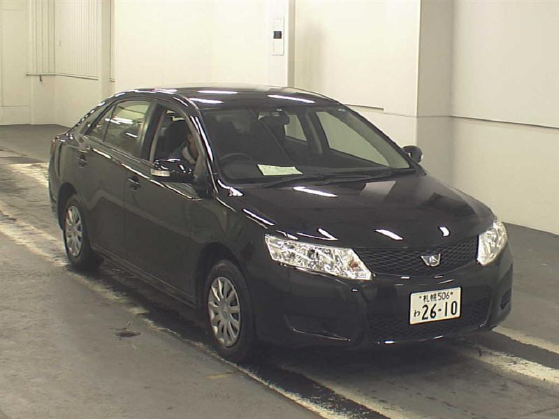 TOYOTA ALLION black