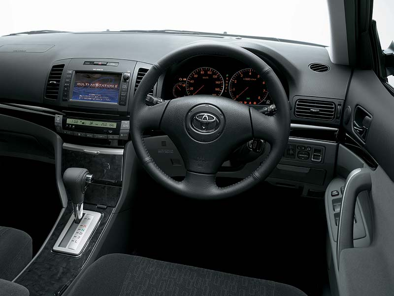 TOYOTA ALLION interior