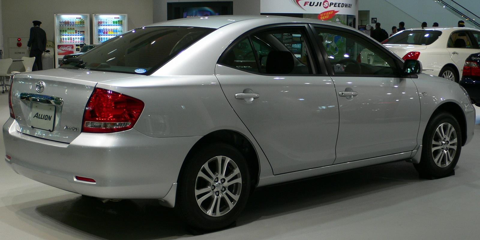 Toyota Allion Review And Photos
