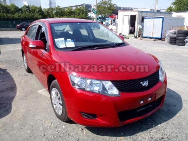 TOYOTA ALLION red