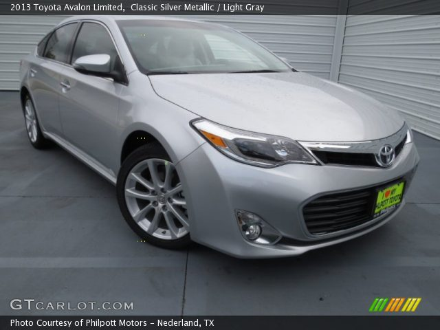TOYOTA AVALON LIMITED silver