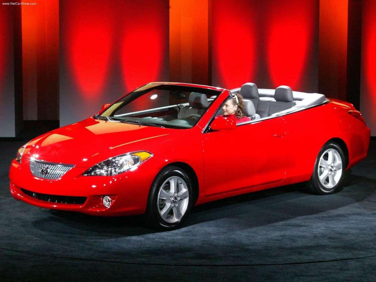 Toyota Camry Solara Convertible Black