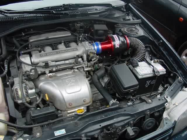 TOYOTA CARINA E engine