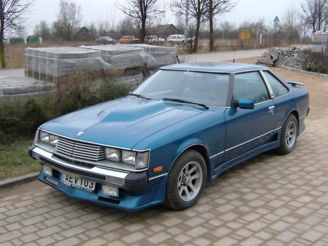 TOYOTA CELICA (RA40) brown