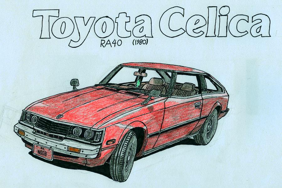 TOYOTA CELICA (RA40)
