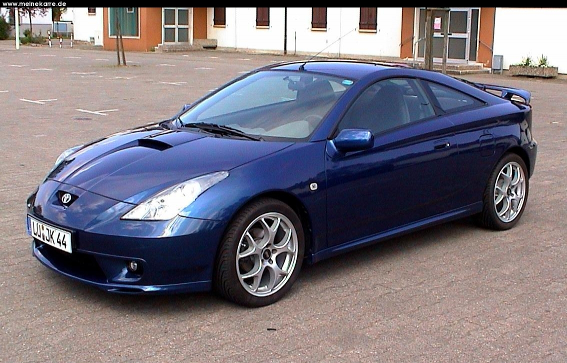 TOYOTA CELICA - Review and photos