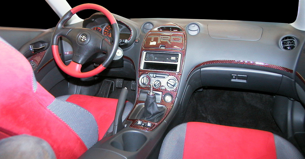 TOYOTA CELICA red