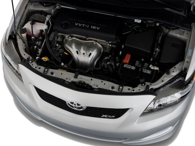 TOYOTA COROLA engine
