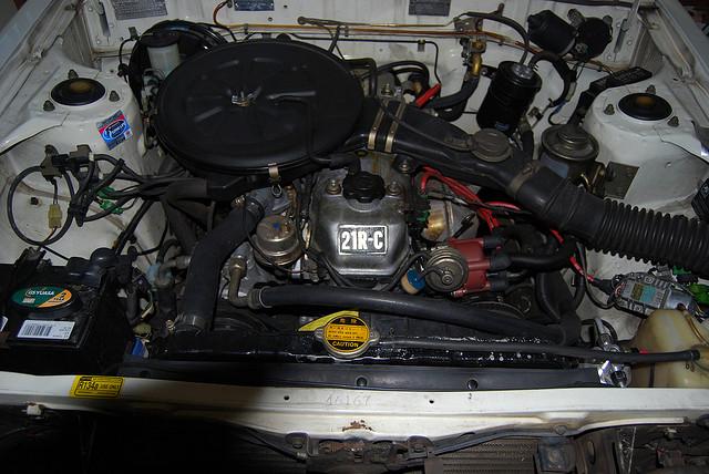 TOYOTA CORONA engine