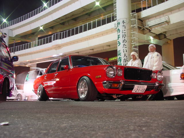TOYOTA CRESSIDA red